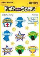 Awards (6 Sheets) (Stickers Faith That Sticks Series) Stickers