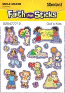 God's Kids (6 Sheets) (Stickers Faith That Sticks Series) Stickers