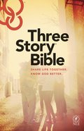 NLT Three Story Bible (Black Letter Edition) Paperback