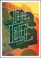 The NLT Life: Seek, Find, Give (Black Letter Edition) (Project 29) Paperback