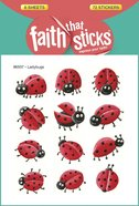 Ladybugs (6 Sheets, 72 Stickers) (Stickers Faith That Sticks Series) Stickers