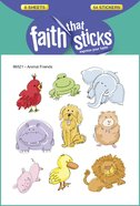 Animal Friends (6 Sheets, 54 Stickers) (Stickers Faith That Sticks Series) Stickers