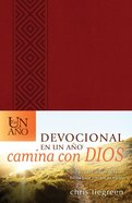 Devocional En Un Ano Camina Con Dios (The One Year Walk With God Devotional) Imitation Leather
