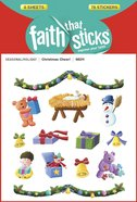 Christmas Cheer! (6 Sheets, 78 Stickers) (Stickers Faith That Sticks Series) Stickers