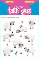 Counting Sheep (6 Sheets, 84 Stickers) (Stickers Faith That Sticks Series)