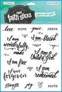 Who I Am in Christ (2 Sheets, 40 Stickers) (Stickers Faith That Sticks Series) Stickers