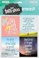 Jeremiah 29: 11 (2 Sheets, 8 Stickers) (Stickers Faith That Sticks Series) Stickers