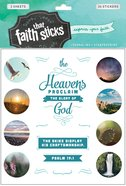 Psalm 19: 1 (2 Sheets, 36 Stickers) (Stickers Faith That Sticks Series) Stickers