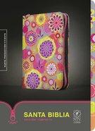 Ntv Edicion Compacta Floral With Zipper (Black Letter Edition) Fabric
