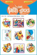 Old Testament Bible Stories (6 Sheets, 54 Stickers) (Stickers Faith That Sticks Series) Stickers