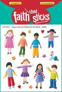 Jesus Loves the Children of the World (6 Sheets, 90 Stickers) (Stickers Faith That Sticks Series)