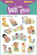 Little Prayers (6 Sheets, 78 Stickers) (Stickers Faith That Sticks Series) Stickers