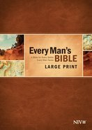 NIV Every Man's Bible Large Print Hardback