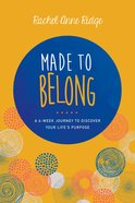 Made to Belong Paperback