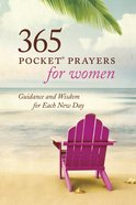 365 Pocket Prayers For Women Paperback