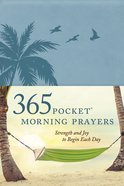 365 Pocket Morning Prayers Imitation Leather