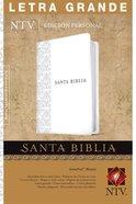 Ntv Santa Biblia Edicion Personal Letra Grande White (Red Letter Edition) Imitation Leather