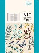 NLT Reflections Bible For Journaling Ocean Blue (Black Letter Edition)