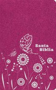 Ntv Santa Biblia Zipper Edition Bright Pink (Black Letter Edition) Imitation Leather