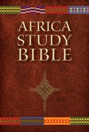 NLT Africa Study Bible (Black Letter Edition) Hardback