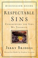 Respectable Sins Discussion Guide Paperback