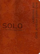 Solo New Testament Devotional Red (Kjv) Imitation Leather