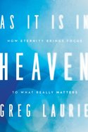 As It is in Heaven Hardback