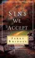 Sins We Accept (Booklet) Booklet