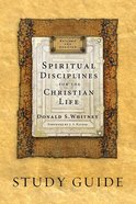 Spiritual Disciplines For the Christian Life (Study Guide) Paperback
