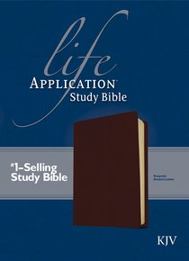 KJV Life Application Study Burgundy (Red Letter Edition)