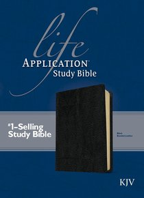 KJV Life Application Study Black (Red Letter Edition)
