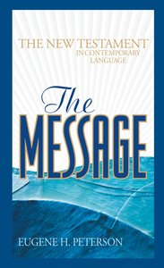 Message New Testament (Black Letter Edition)