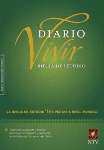 Ntv Biblia De Estudio Del Diario Vivir (Red Letter Edition)