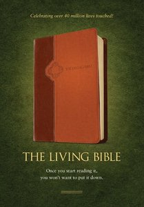 Lbp Living Bible Paraphrase Tan Brown Tutone (Black Letter Edition)
