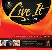 NLT Live It Now! New Testament Dramatized Audio Bible (15 Cds)