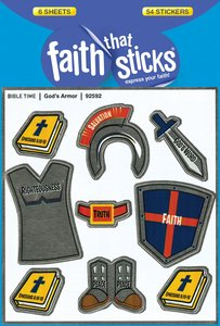Sfts: Gods Armor (6 Sheets, 54 Stickers)
