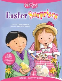 Easter Surprises (Incl. Stickers) (Faith That Sticks Story & Activity Book Series)