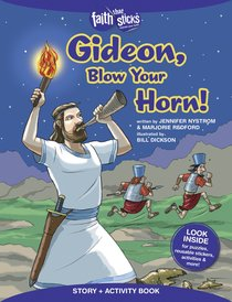 Gideon, Blow Your Horn! (Incl. Stickers & Puzzles) (Faith That Sticks Story & Activity Book Series)