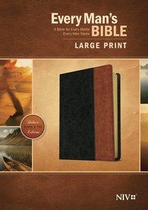 NIV Every Mans Bible Large Print (Black Letter Edition)