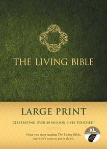 Lbp Living Bible Large Print Indexed Green (Black Letter Edition)