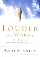 Louder Than Words Paperback