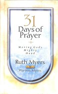 31 Days of Prayer Hardback