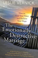 The Emotionally Destructive Marriage Paperback