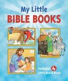 My Little Bible Books - Includes 4 Little Board Books