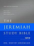 NIV the Jeremiah Study Bible Hardback