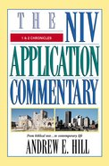 1 & 2 Chronicles (Niv Application Commentary Series) Hardback