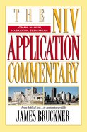 Jonah/Nahum/Habakkuk/Zephaniah (Niv Application Commentary Series)