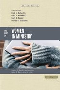 Two Views on Women in Ministry (Counterpoints Series) Paperback