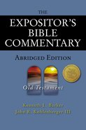 Old Testament (Expositors Bible Commentary Series)