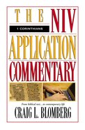 1 Corinthians (Niv Application Commentary Series) Hardback